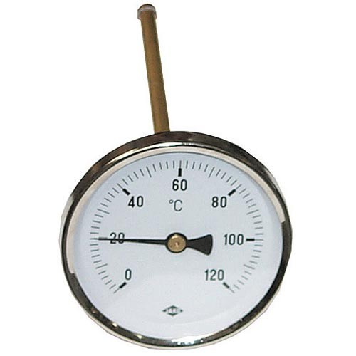 Boilerthermometer 0 - 120°
