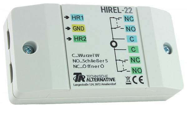 Technische Alternative HIREL22 - Hilfsrelais