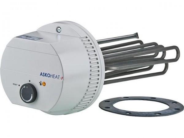 Askoma Elektro Flansch (Ø180mm) Heizstab AHFOR-BI-A für Heizung & Brauchwasser
