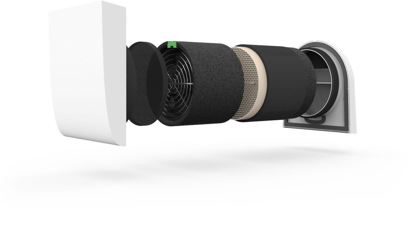getair easyfan l ftersystem komplettset 500 mm komplettsets getair dezentrale. Black Bedroom Furniture Sets. Home Design Ideas