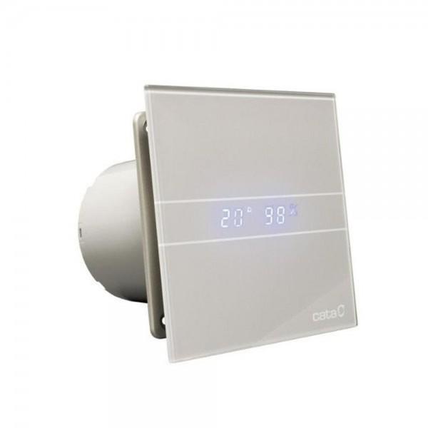 Cata Wandventilator E100-GTSH mit Hygrostat und Timer - silver