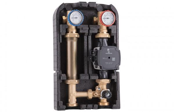Barberi Pumpengruppe 07G.DN25 gemischt / mit Bypass und Ventil für Stellmotor
