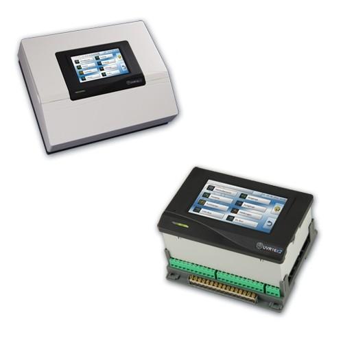 Technische Alternative UVR 16x2 Schaltschrankeinbau Universalregelung