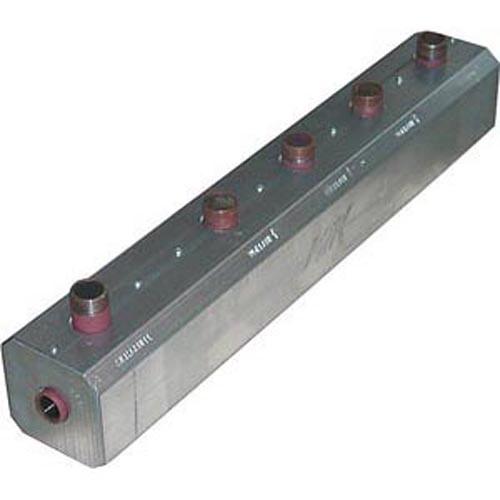 Heizungsverteiler aus Stahl 1'' für Leistungen bis 50 kW mit Isolierung