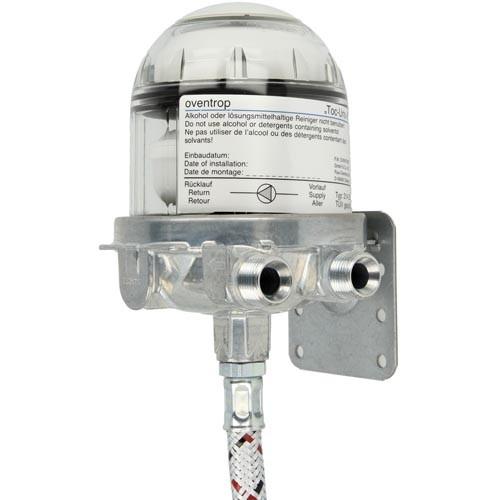 Oventrop Heizölentlüfter Toc-Uno-A 1/4 IG x 3/8 AG, inkl. Schlauchleitung