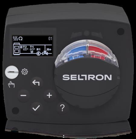 Seltron Promatic ACC40 - Konstant-Temperaturregler mit Stellmotor und Pumpensteuerung