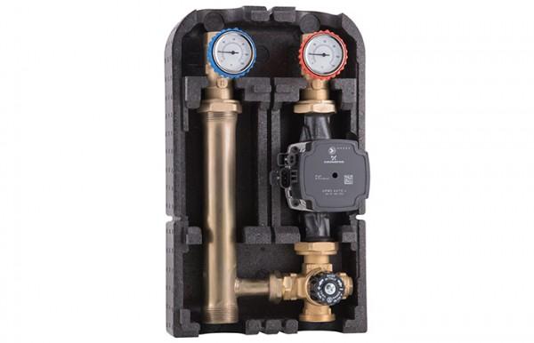 Barberi Pumpengruppe 32G.DN25 mit Thermostatmischer / ohne Bypass