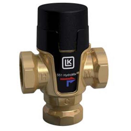 LK Brauchwassermischer mit Verbrühungsschutz