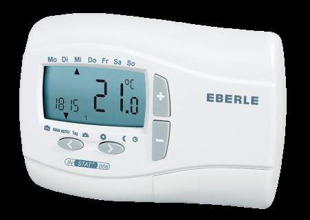 Eberle Funk-Raumthermostat INSTAT+ 868 (Funksender)