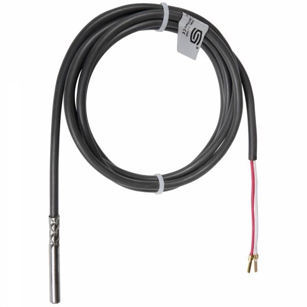 Hülsen- / Kabeltemperaturfühler PT100 mit Silikonkabel