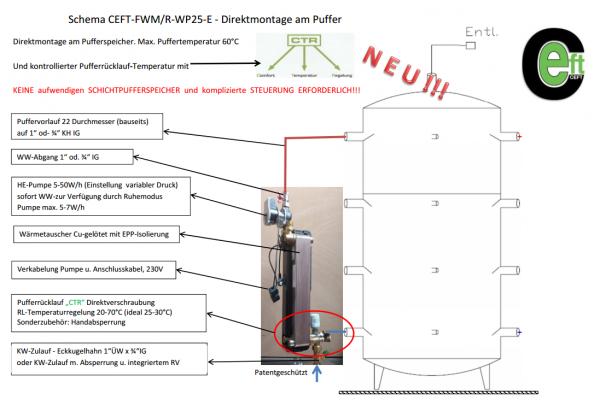 Frischwassermodul CEFT-FWM/R-WP25-E