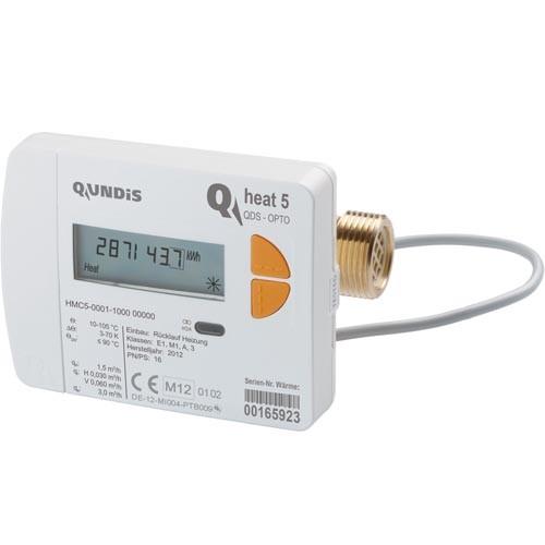 Qundis Wärmemengenzähler Q heat 5 mit Verschraubung