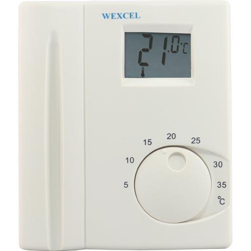 Elektronischer Raumtemperaturregler ET392 mit digitaler Anzeige 230V