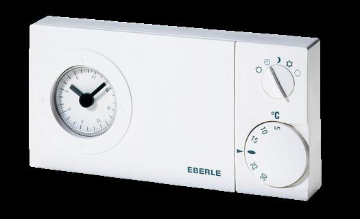 Eberle Uhren-Raumthermostat easy 2 t - mit Tagesschaltuhr