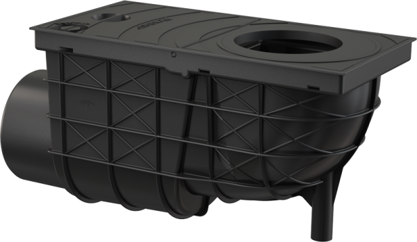 Alca Plast AGV3 - Universal-Regensinkkasten 300×155/110 mm Abgang waagrecht