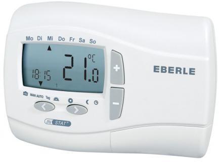 Eberle Uhren-Raumthermostat INSTAT+ 2R mit Tages-/Wochenprogramm - Batteriebetrieb