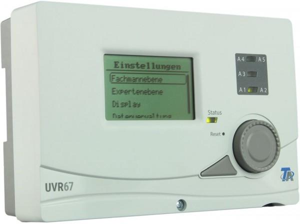 Technische Alternative UVR67 - universelle Regelung