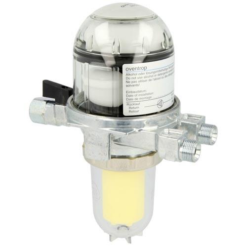 Oventrop Heizölfilter-und Entlüfter Toc-Duo-3 mit Absperrung und Siku-Filtereinsatz