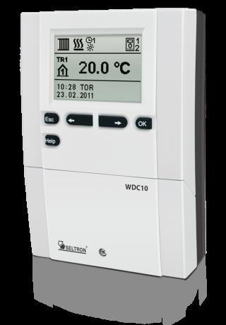 Seltron Promatic WDC10B Heizungsregler im Set mit Fühlern