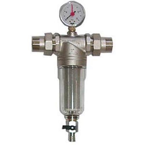 Wasserfilter 3135N - rückspülbar 100 µ - mit Manometer
