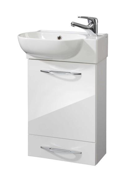 Badmöbel Serie PICO - Waschtischunterschrank mit Waschbecken